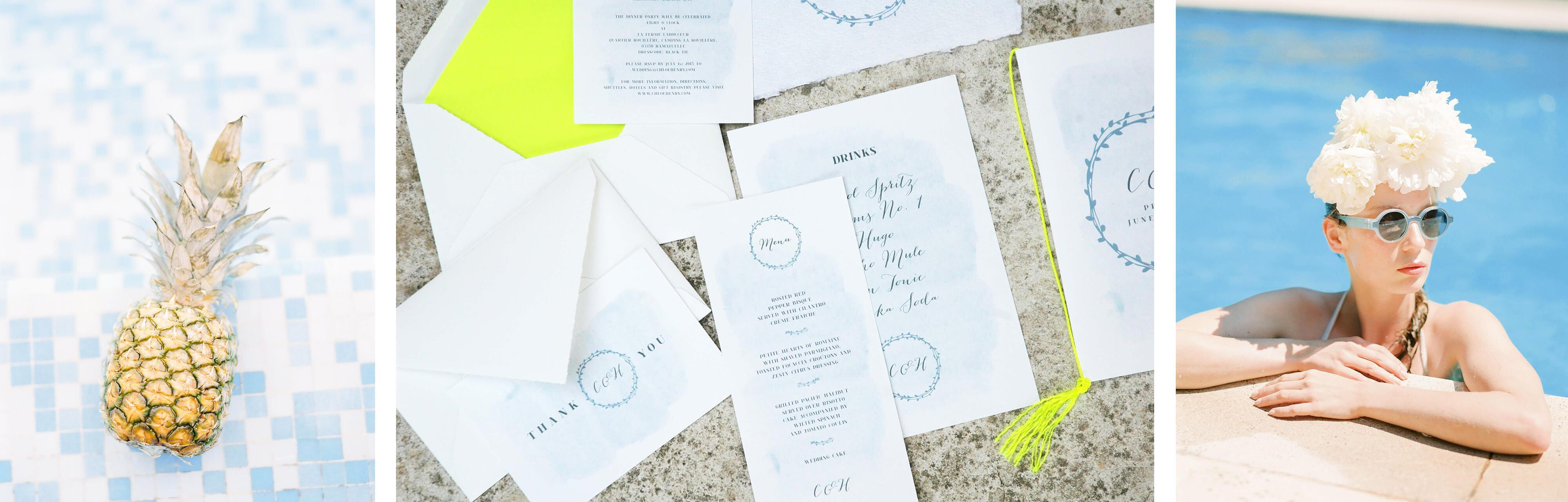 jungrad wedding design einladung poolparty saint tropez