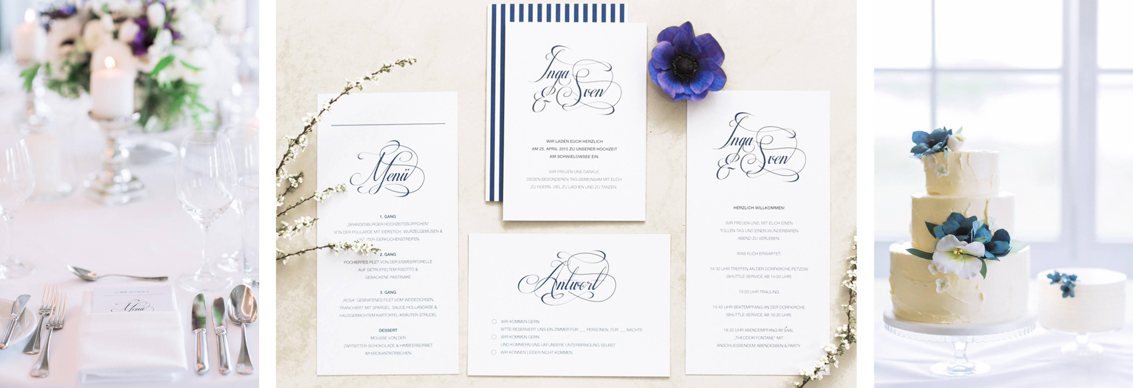 individuelles Hochzeitsdesign