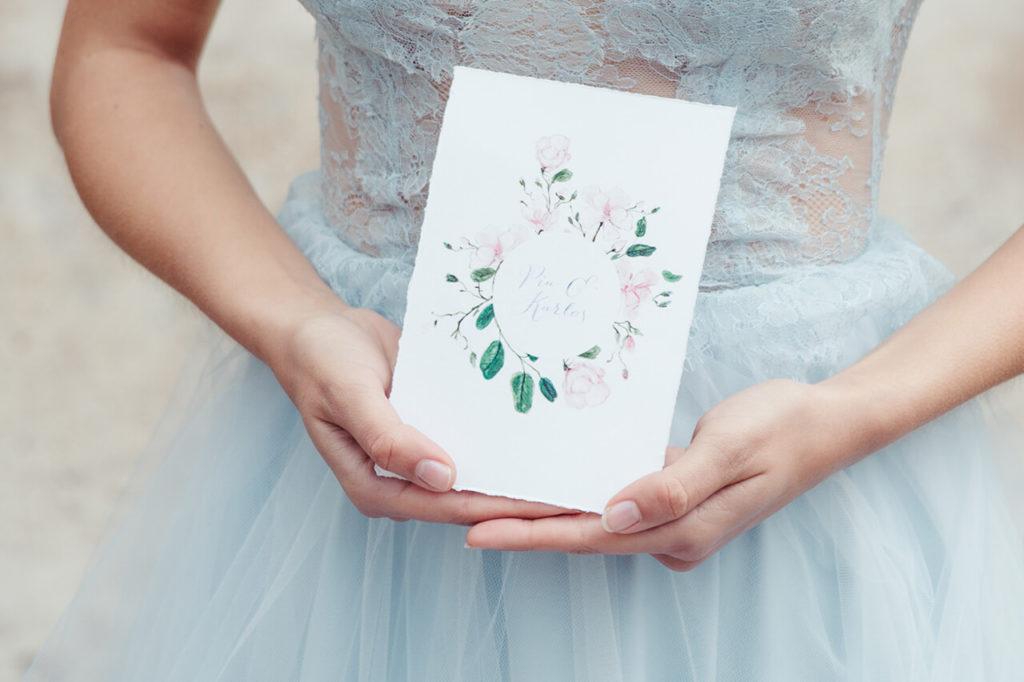 Jungrad Hochzeitskarten Illustration